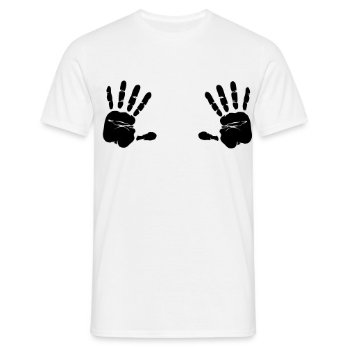 HANDS BOOBS TITS - Men's T-Shirt