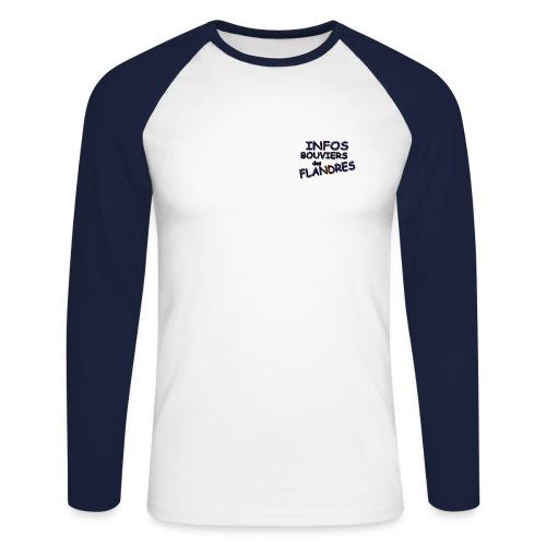 IBF 8 - T-shirt baseball manches longues Homme