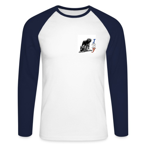 IBF 12 - T-shirt baseball manches longues Homme