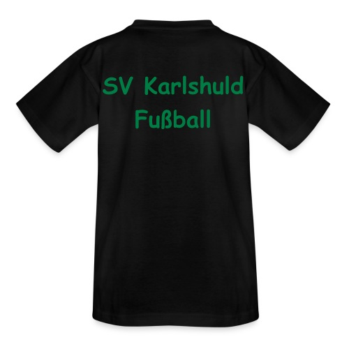 Kinder T-Shirt SVK Fußball - Teenager T-Shirt