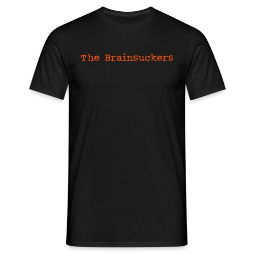 The Brainsuckers T-Shirt mit Backprint FLOCK - Männer T-Shirt