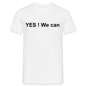 Yes ! We can - T-shirt Homme