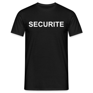 Securite-staff - T-shirt Homme