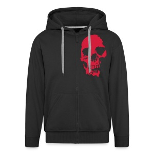 MEN SKULL HOODY - Men's Premium Hooded Jacket
