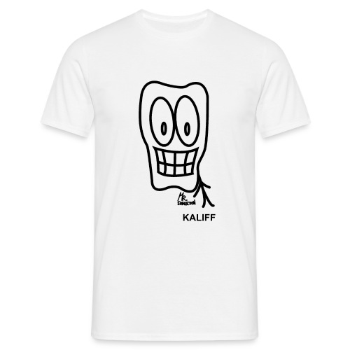 Skelletton kaliff - T-shirt herr