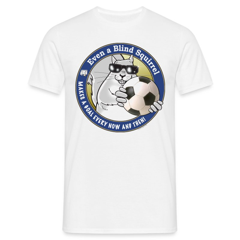Blind Squirrel - Soccer - Men's T-Shirt