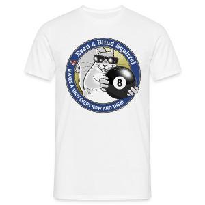 Blind Squirrel - Billiards - Men's T-Shirt