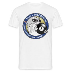 Blind Squirrel - Billiards - Men's T-Shirt