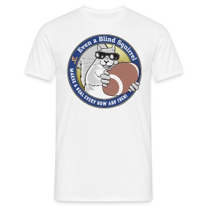 Blind Squirrel - Football - Men's T-Shirt
