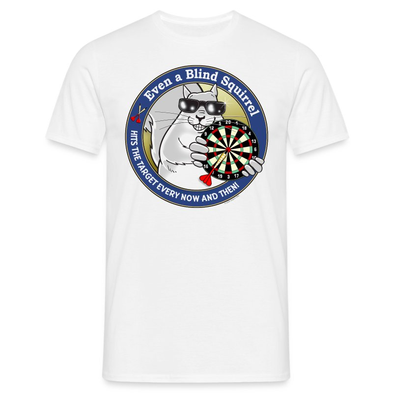 Blind Squirrel - Darts - Men's T-Shirt