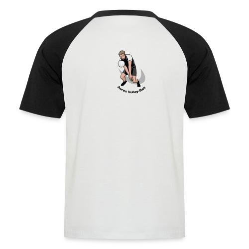 T-shirt homme, logo dans le dos - T-shirt baseball manches courtes Homme