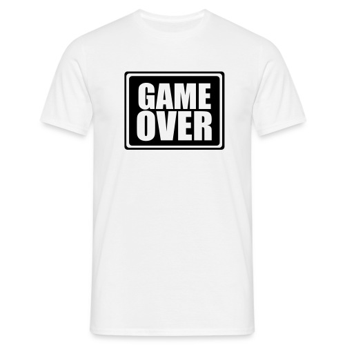 Game over Tee, several colours - Men's T-Shirt