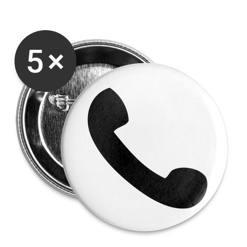 buttons  - Middels pin 32 mm (5-er pakke)
