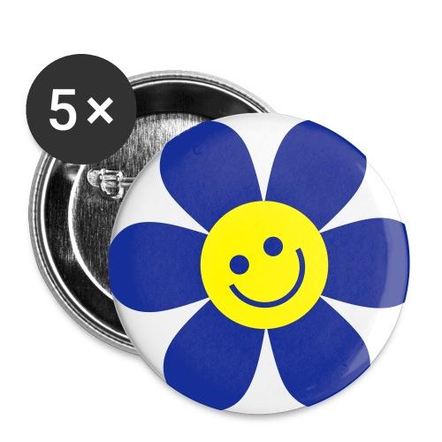 blomst - Liten pin 25 mm (5-er pakke)