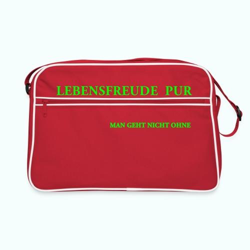 MAN GEHT NICHT OHNE - Retro Bag