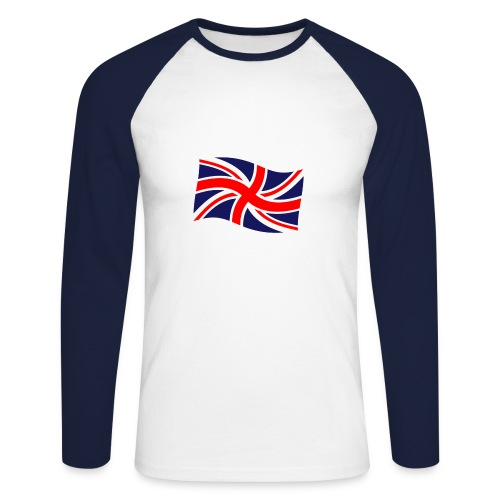 GB_3 - Men's Long Sleeve Baseball T-Shirt