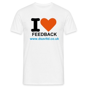 IloveFeedback_mens - Men's T-Shirt