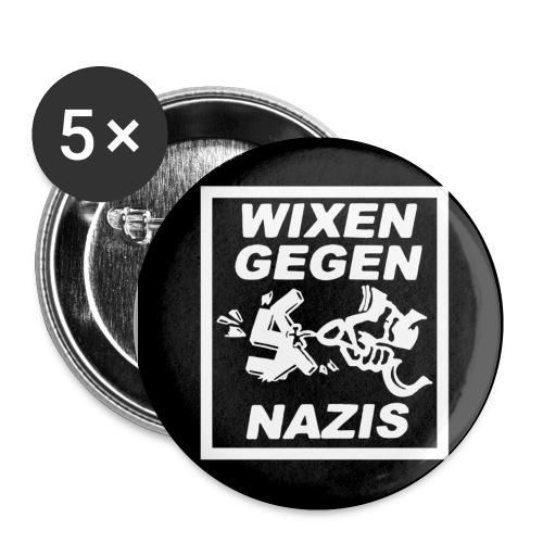 Buttons Wixen gegen Nazis - Buttons klein 25 mm
