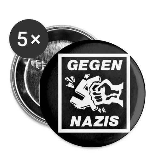 Buttons Gegen Nazis - Buttons klein 25 mm