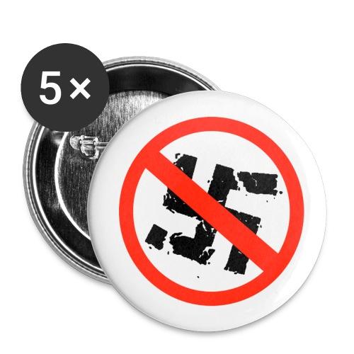 Buttons Anti Hakenkreuz - Buttons klein 25 mm