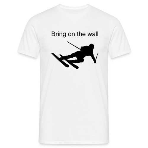 the wall2 - Men's T-Shirt