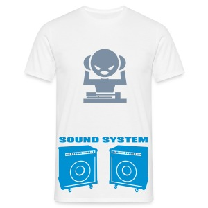 DJ Sound System - Men's T-Shirt