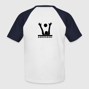 T-shirt volley, volleyeur au block - T-shirt baseball manches courtes Homme