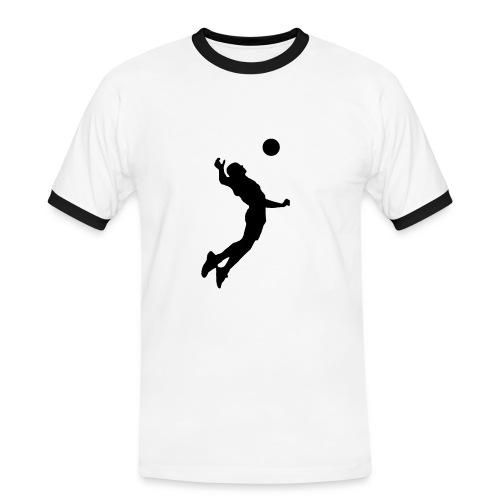 T-shirt volley, 6 coloris au choix - T-shirt contrasté Homme