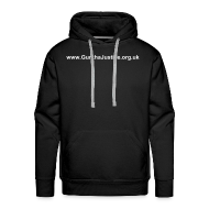 Hoodies & Sweatshirts ~ Men's Premium Hoodie ~ Hooded and dangerous