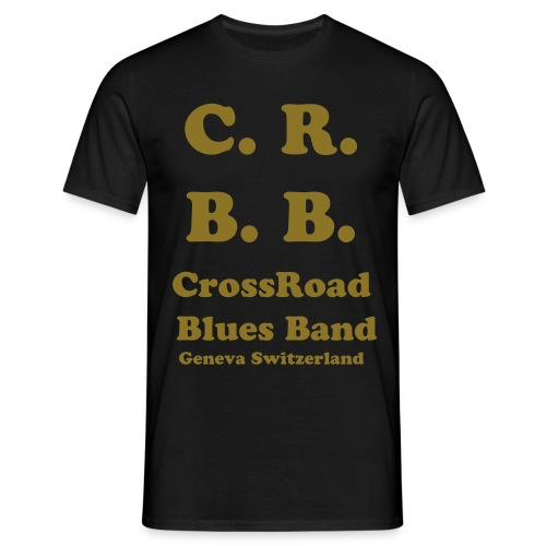 CrossRoad en Or | Unisex - T-shirt Homme