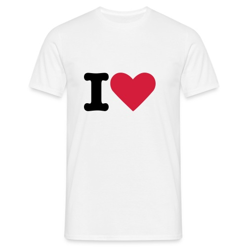 tshirt amour - T-shirt Homme
