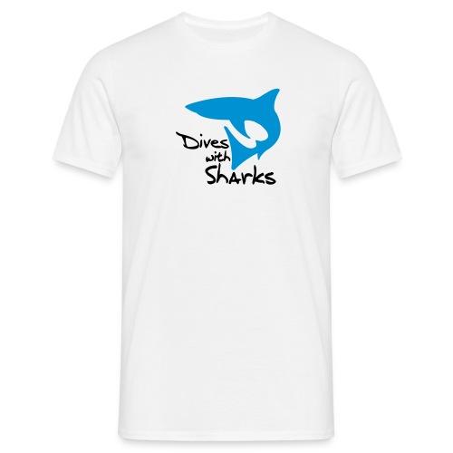 T-Shirt - Dives with Sharks - Männer T-Shirt