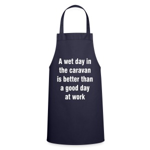 A wet day in the caravan - Cooking Apron
