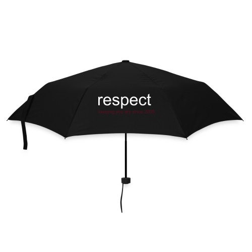 respect keeping you dry - Umbrella (small)