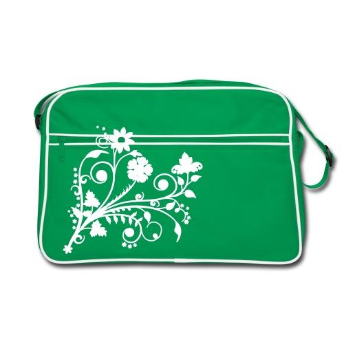 Floraldruck Tasche - Retro Tasche