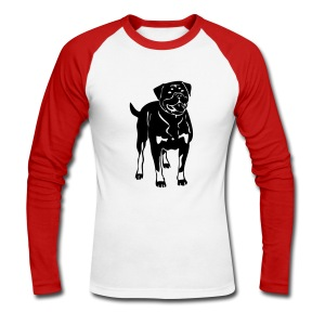 rotty - T-shirt baseball manches longues Homme