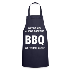 Why do men always cook the BBQ? - Cooking Apron