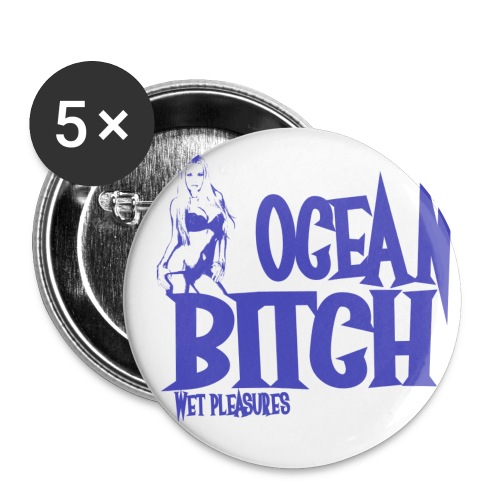 OCEAN BITCH - Badge grand 56 mm