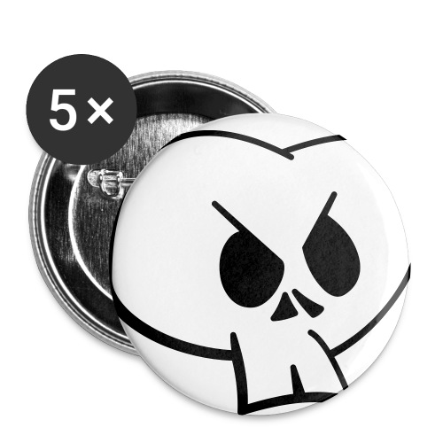mort - Badge petit 25 mm