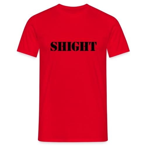 Classic Shight - Flock print - Men's T-Shirt