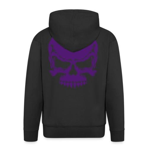 Skull Hoodie-men's - Men's Premium Hooded Jacket