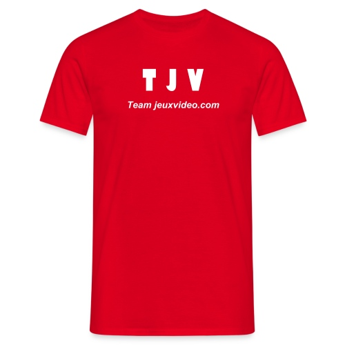 Red T-S TJV - T-shirt Homme