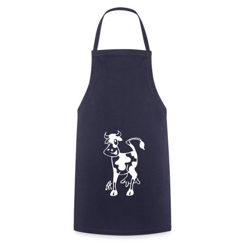 tablier de barbecue  cow  - Tablier de cuisine