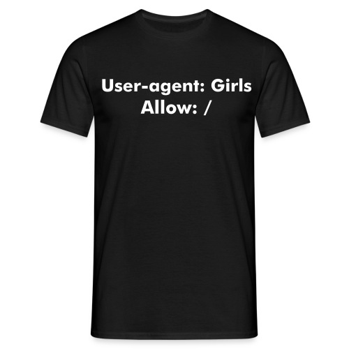 Allow girls - T-shirt herr