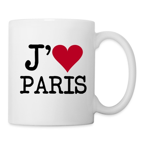 LoveParis - Mug blanc