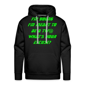 No Excuse - Men's Premium Hoodie