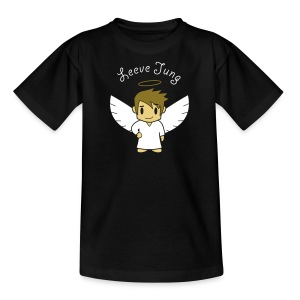 Engelsche2, Gold - Teenager T-Shirt