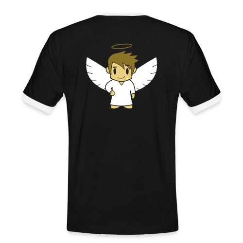 Engelsche2, Röggedrock Gold - Männer Kontrast-T-Shirt