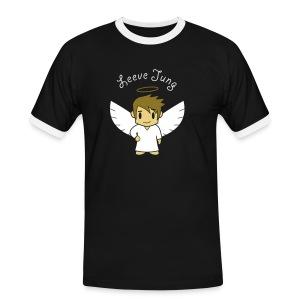 Engelsche2, Gold - Männer Kontrast-T-Shirt