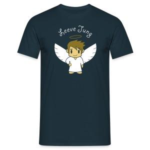Engelsche2, Gold - Männer T-Shirt